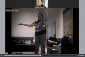 Image of  a Zoom Tai Chi Qigong Session for Bindhya 1